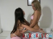 Blonde & Brunette UK Lesbos