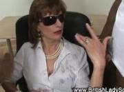 British mature classy lady cumshot