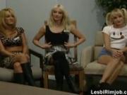 Hot lesbian threesome 5 by LesbiRimjob