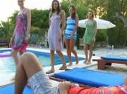 luxury gangbang with four girls and me