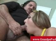 Young Natalia Rossi gets old cock