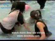 Pakistani Girl in water
