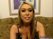 Blonde porn upstart Tiffany Rayne is a bit of a brat