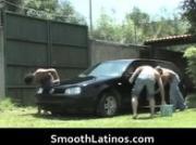 Dano, Saul and David latino gay teens sucking and fucking 1 by SmoothLatino