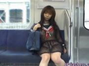 Mikan Lovely Asian schoolgirl is an exhibitionist 2 by JPflashers