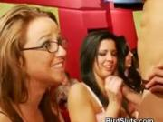 Party Girls Pass Cock From Mouth To Mouth At Ladies Night Party