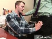 Cole streets fucking and sucking on office 5 by WorkingCock