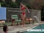 Celeb phoebe cates nude coming out of a pool in bikini
