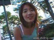 Cute Asian Teen Really Squeals When She s On All Fours With A Tin