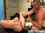 Cock sucking action in the office 11 by HardOnJob