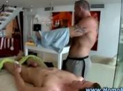 Gay straight fleshlight cock massage