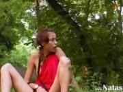 Natasha forest teen from Russia