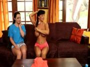 Lola Foxx and Lisa Ann at Mommy039s Girl