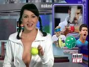 Rachel simmons » naked news beauties anchor presents - sport