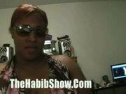 Ex black bueaty queen wanna be dick cum slober
