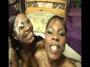 5645494 2 ebony girls love throat group cocksucking and cum