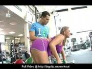 Big Tit Gym Slut Fuck