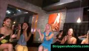 All the girls love male dancing bear strippers