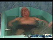 Olga » naked funny actress » unisex bathtub