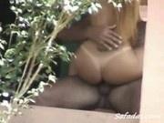 Naughty neighbors having erotic sex get busted on hidden camera