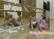 Lesbians ballet like mila kunis and natalie portman in black