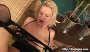 Blonde bianca gets assfucked