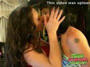 Busty brunette lesbians jezebelle bond and jewell marceau li