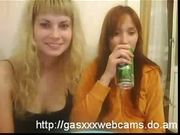 Two lesbians on webcam