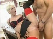 Big titty secretary Kathy Anderson