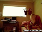 Hidden web cam fuck