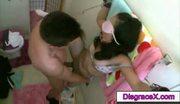 Kinky teen couple loves to do bondage play