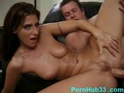 Sexy big ass milf loves a cock in her ass
