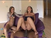 Alicia Alighati and Delilah Strong fuck Sean Michaels