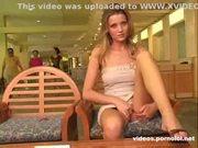 Amateur upskirt - russian girl