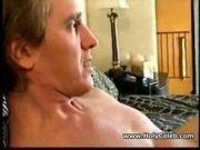 Blonde s ass makes him cum