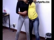 Ebony Strip Fight