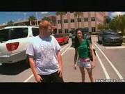 Porn Star Jenna Presley Saves The Day – Outdoor Hardcore