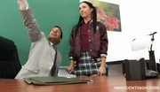 Cute latina teen fucked by her horny teacher