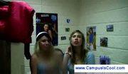 College girls make amateur sextape