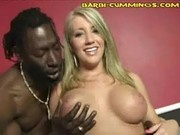 Blonde Babe And Black Cocks