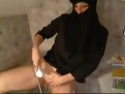 arabian girl shaving