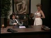 My horny secretary