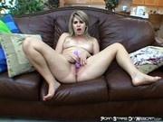 Jackie Avalon - Naked Slut Masturbating