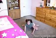 Teen topanga - dirty cheerleader routine