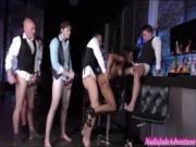 Nadia Jay is Gangbanged at Work by Employees