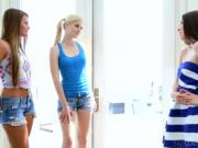 Teenie Lola Foxx Aubrey Star Charlotte Stokely and Abby Cross