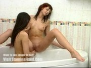 Katie and Anna - Tub Sex