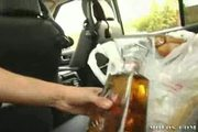 Policia se come a infractoras de transito