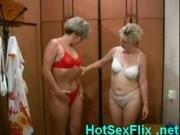 Mature lesbian sluts fucking in sauna
