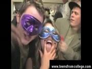 Dirty mardi gras party